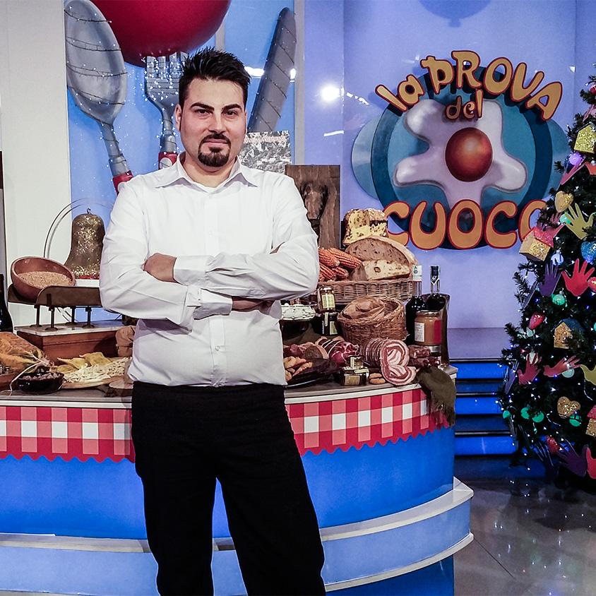 Lo chef molisano 'Stefano Rufo' trionfa a 'La prova del cuoco'